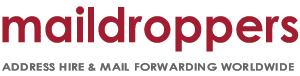 Maildroppers.com Postal address hire & mail forwarding worldwide